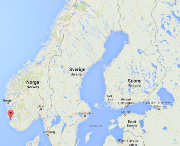 Stavanger, c'est là !