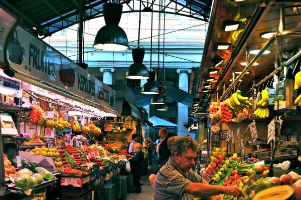 Manger à la Boqueria, le plus vieux marché de Barcelone