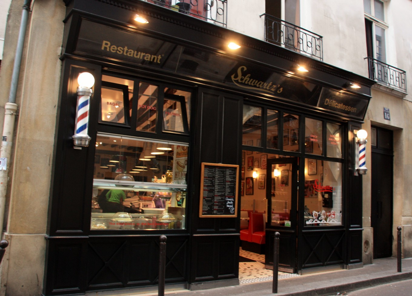 Schwartz's, Paris, France