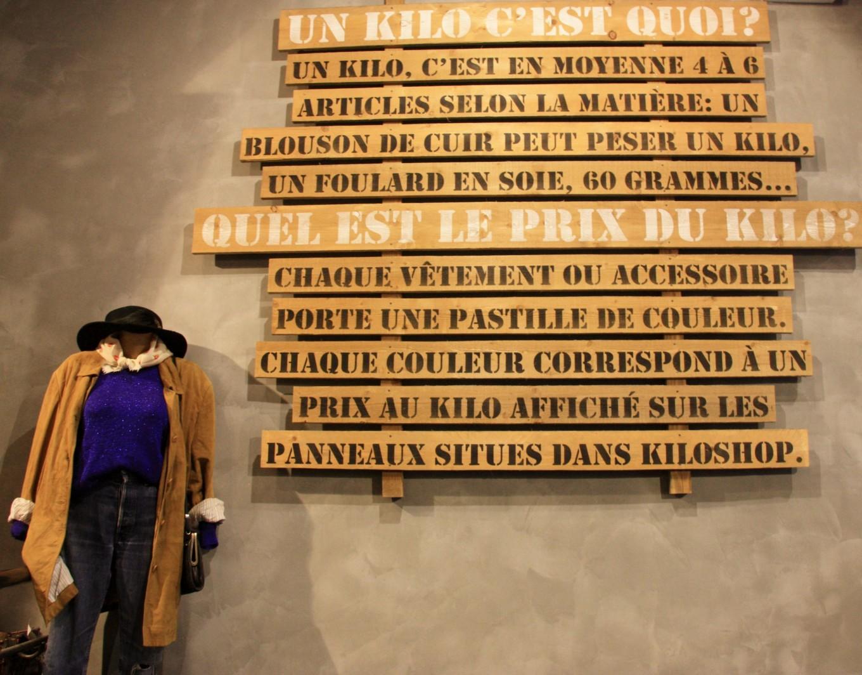 Kilo Shop, Paris, France