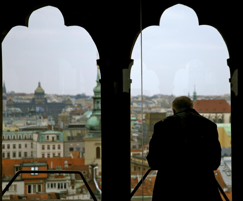 Vue de l'Hôtel de Ville, Prague, République Tchèque