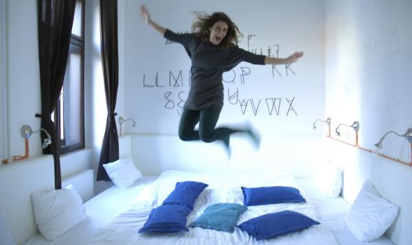 Chambre-lit de l'Hotel Fusion testée et approuvée par Les Baroudeurs, Prague, République Tchèque