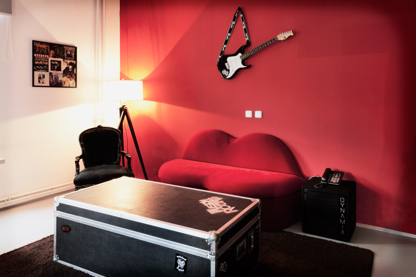 Rock Room, Hotel Fusion, Prague, République Tchèque