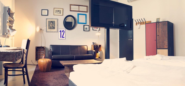 Vintage Room, fusion hotel, Prague, République Tchèque