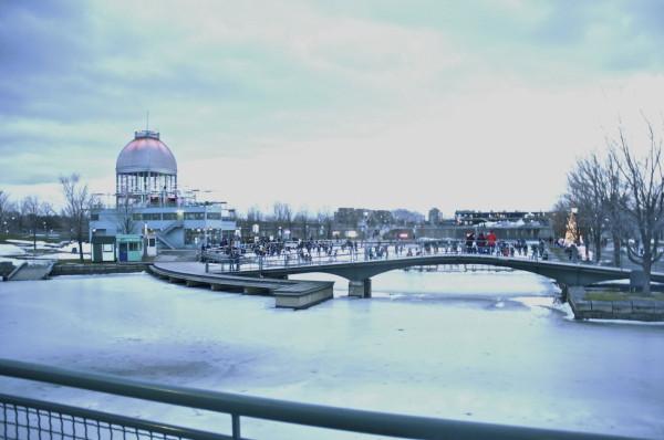 L'hiver à Montréal, Canada