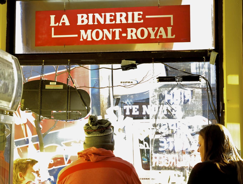 Un brunch à la Binerie, Montréal, Canada