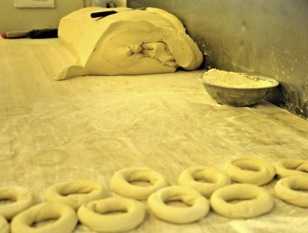 La fabrique de bagels à Saint-Viateur, Montréal, Canada