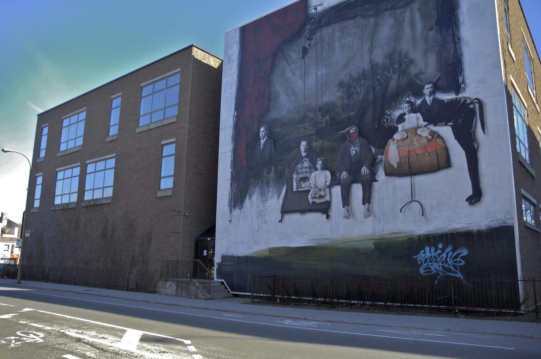 Street art, Montréal, Canada