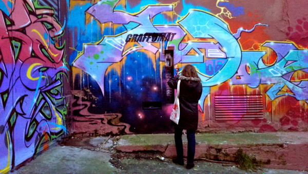 graffomat, distributeur de graff à Prague