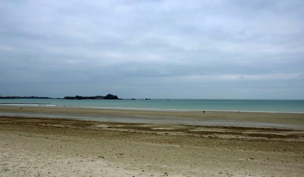 Baie de Saint-Brelade, Jersey, Angleterre