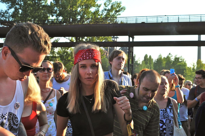 Dans le public de Colors of Ostrava, République Tchèque