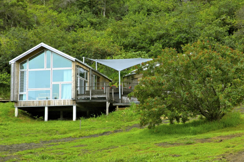 Vue sur le Betikure Lodge, Bourail, Nouvelle-Calédonie