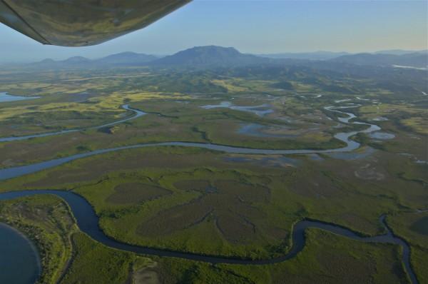Survol du coeur de Voh, Nouvelle-Calédonie