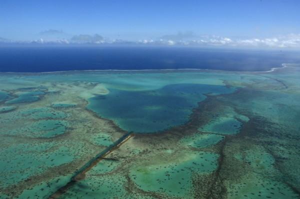 Au-dessus du lagon, Nouvelle-Calédonie