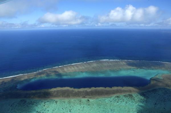 Trou bleu, Voh, Nouvelle-Calédonie