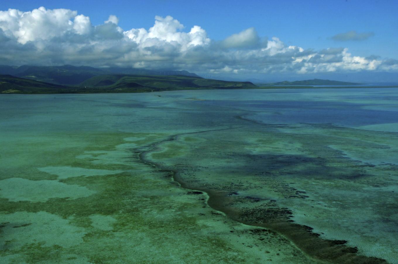 Grande barrière de corail, Voh, Nouvelle-Calédonie