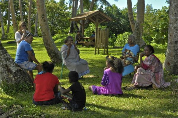 Mâcher la canne, Poindimié, Nouvelle-Calédonie