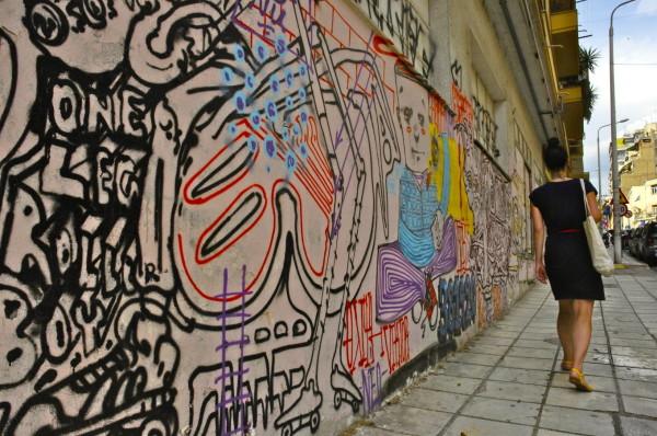 Dans les rues, Thessalonique, Grèce