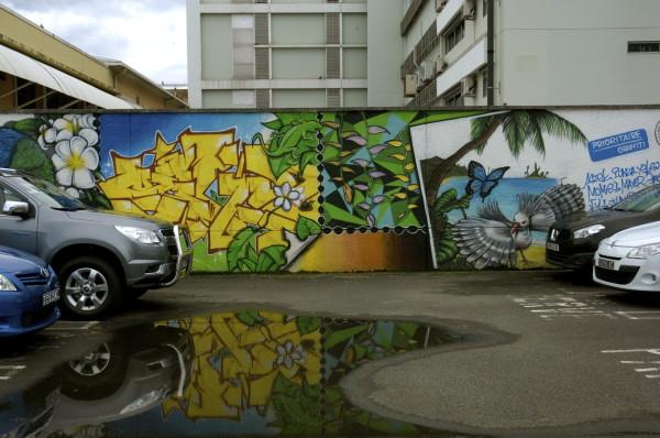 Street art, Nouméa, Nouvelle-Calédonie