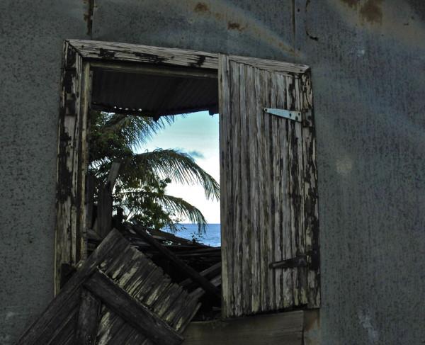 Fenêtre sur mer, Sainte-Rose, Guadeloupe