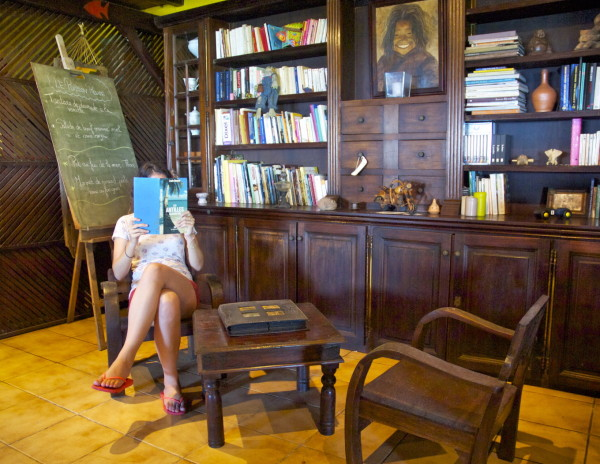 Bibliothèque du Tendacayou, Deshaies, Guadeloupe