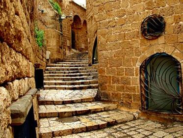 Dans les ruelles de Jaffa, Israël