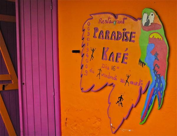 Paradise Kafé, Deshaies, Guadeloupe