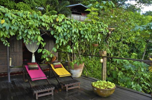 Un spa au Tendacayou, Deshaies, Guadeloupe