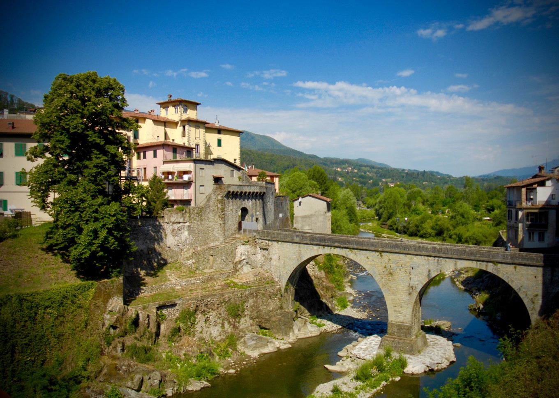 Pont de Castelnuevo, Italie