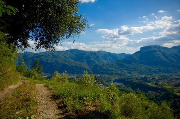 Sur le sentier de Toscane, Coreglia, Italie