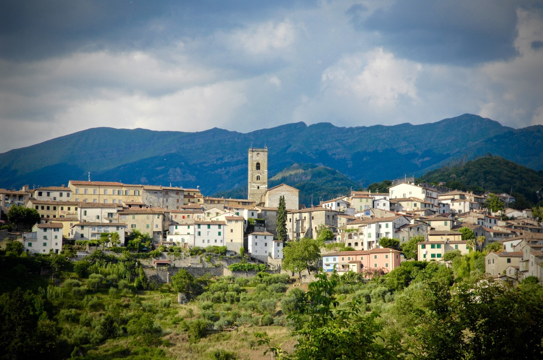 Village perché, Coreglia Anteminelli, Italie