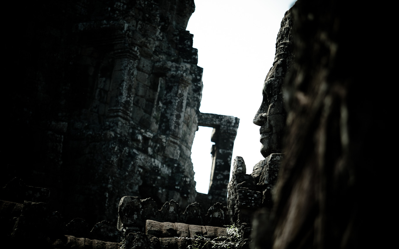 Temple Bayon, Siem Reap, Cambodge