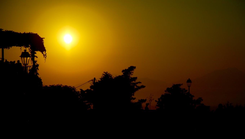Coucher de soleil sur Zia, Kos, Grèce