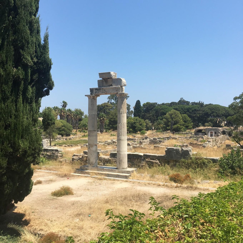 Ruines de Kos, Grèce