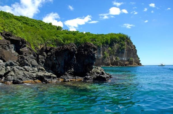 la réserve Cousteau, Deshaies, Guadeloupe