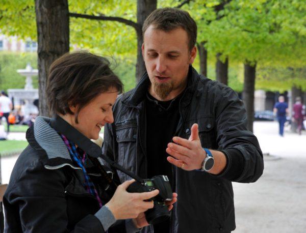 Après le cours sur la profondeur de champ, Nikon School, Paris