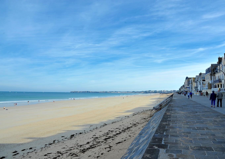 Plage de l'éventail, Saint-Malo