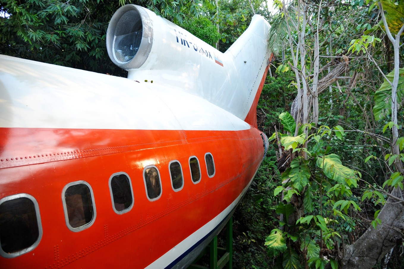 avion dans la jungle Costa rica