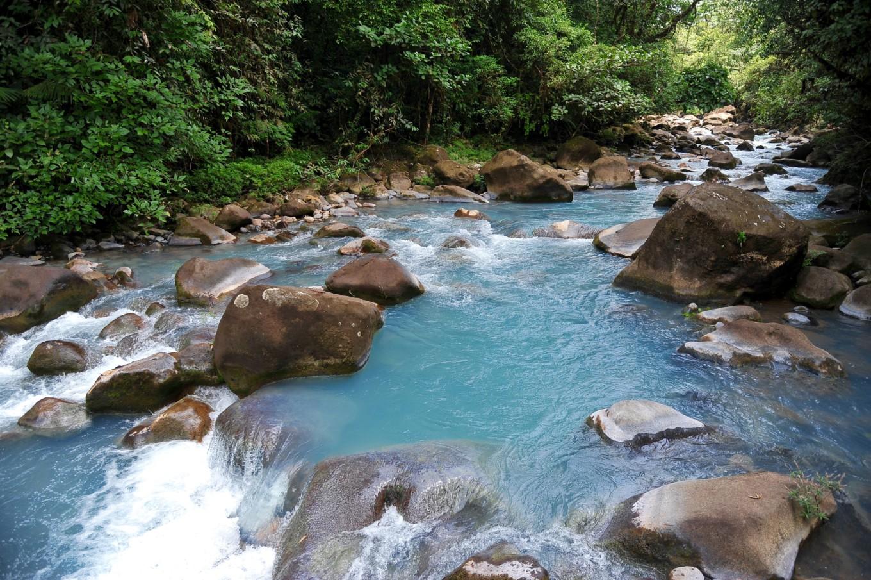 Et écouter couler le Rio Céleste, Costa Rica