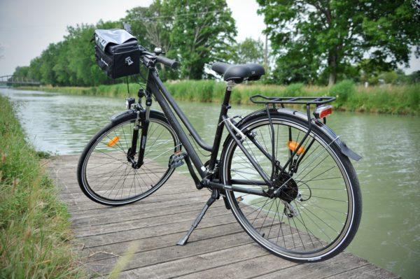 vélo sur le canal des deux mers