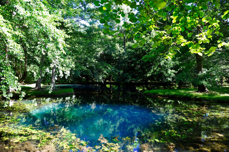 Les fontaines mystérieuses, château Beaulon