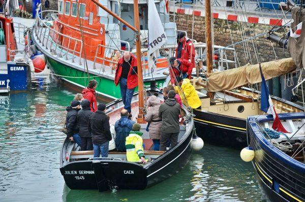 Rentrée au port, Calvados