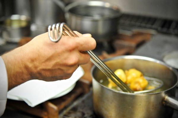 Dans les cuisines de la Chènevière