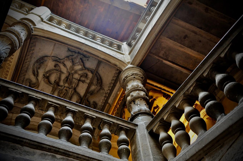 Escalier de l'Hôtel de Lestrade, Périgueux