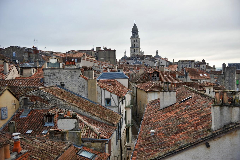 Périgueux depuis la Tour Mataguerre