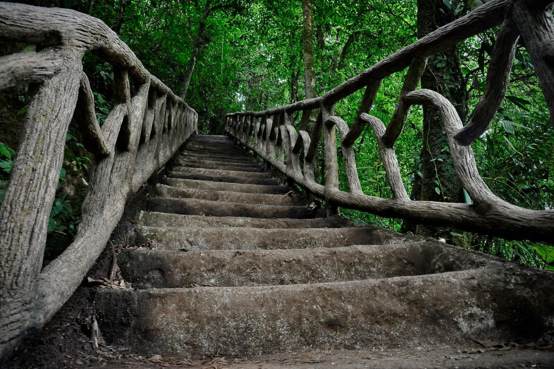 Des escaliers du Rio Celeste, Parc Tenerio, Costa Rica