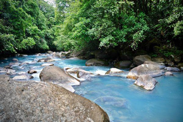 Et écouter couler le Rio Céleste, Bijagua