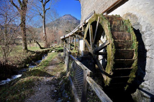 Au Moulin de Léré, Alpes du Léman