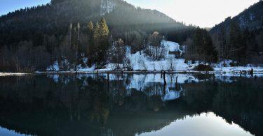 Lac du Vallon, Alpes du Léman