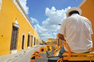 cariole à chevaux izamal Mexique